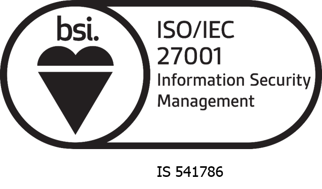 Cleardata is accredited to BSI's ISO27001 Accreditation for Information Security