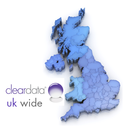 Cleardata has UK Wide Coverage