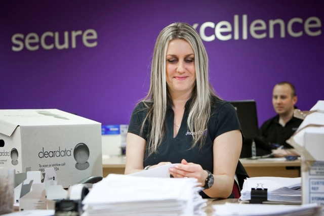Cleardata delivers document scanning and document management throughout the East Midlands
